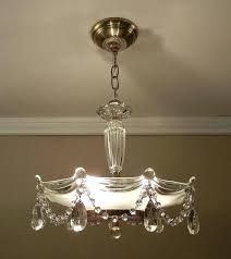 In Ceiling Light Chandelier Ceiling Light Fixtures And Vintage Beaded