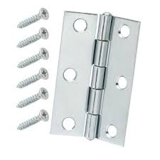 Shutter Hinges Home Depot by Everbilt 3 In X 3 In Zinc Plated Narrow Utility Hinge Non