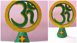 how to make an om from cardboard for home decoration i diy home