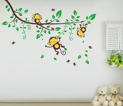 attractive wallpaper stickers for kids bedroom ideas shdecors com
