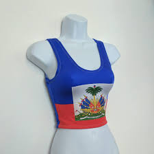 Happy Haitian Flag Day Haiti Flag Crop Top Haitian Flag Haitian Clothing Caribbean