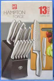 ebay kitchen knives hampton forge hmc01b460a kobe 13pc stainless steel chef knives