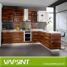 Wood Veneer For Kitchen Cabinets by New Wood Veneer Kitchen Cabinets Cupboard Buy Wood Kitchen
