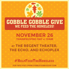 gobble gobble give tickets the regent theater los angeles