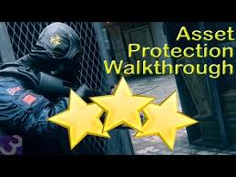 protection siege rainbow six siege situations asset protection walkthrough