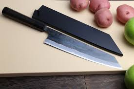 high carbon kitchen knives blue high carbon kurouchi kiritsuke chef knife yoshihiro
