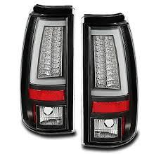 2004 silverado led tail lights zmautoparts chevy silverado 2004 2006 gmc sierra led tube tail
