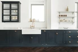 navy blue kitchen cabinet design 15 gorgeous blue kitchens inspiration and ideas