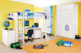 Schlafzimmer Einrichten Mit Kinderbett Yogi Hochbett Kinderbett Mit Leiter 90x200 Kiefer Weiß Gerade Leiter