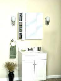 medicine cabinet lights above light over surface mount medicine cabinet bathroom lights over