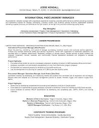 international logistic manager resume logistics manager resume
