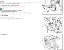 audi q5 rear brake pad and rotor replace audiworld forums