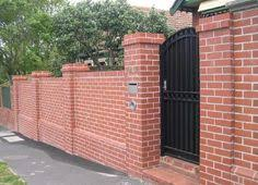 Brick Wall Fence Design Ideas Google Search House Decorations - Brick wall fence designs