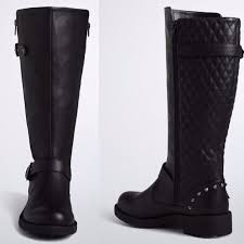 womens studded boots size 11 19 torrid shoes sold torrid quilted stud moto boots size