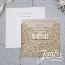 glitter wedding invitations glitter paper invites wholesale wedding invitations wedding