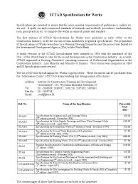 ictad specifications for works deep foundation road