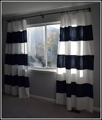 Nautical Striped Curtains Incredible Navy And White Striped Curtains And Navy Blue Striped