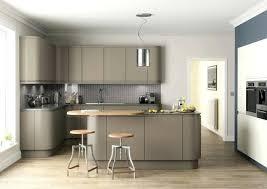 cuisine et couleurs couleur gris clair peinture ilot de cuisine et meubles meuble