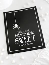 halloween logo black background halloween something sweet print bloom designs