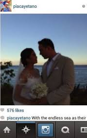 marriage caption fille cainglet marries lino cayetano the marriage is now