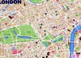 New York Tourist Attractions Map by Maps Update 21051488 Map Of Central London With Tourist