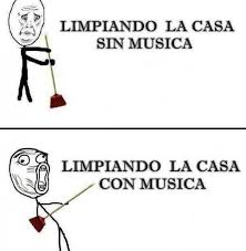 Memes Musica - dopl3r com memes limpiando la casa sin musica limfplandu sia