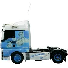 carson 1 14 man tgx wolf edition rc model truck kit from conrad