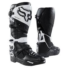 motocross boots 2018 fox instinct mx motocross boots black black dirtbikebitz