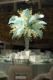 Ostrich Feather Centerpieces Ostrich Feather Centerpieces How Do We Avoid The Palm Tree Look