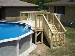 Above Ground Pool Patio Ideas Best 25 Above Ground Pool Decks Ideas On Pinterest Pool Decks