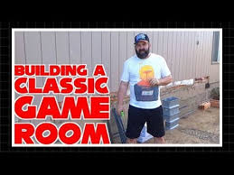 Building A Game Room - building a classic game room part 1 youtube