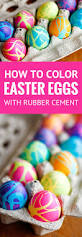 coloring easter eggs w rubber cement u0026 food coloring unsophisticook