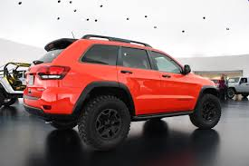 jeep grand cherokee custom 2015 jeep grand cherokee trailhawk concept at moab 2013 u0027s auto