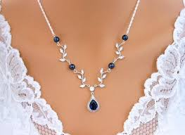 sterling silver wedding necklace images The 25 best silver wedding jewelry ideas silver jpg