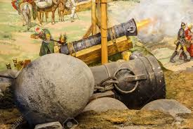 siege canon siege cannon used in the assault and fall of