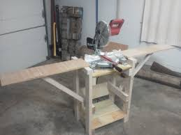 diy table saw stand with wheels miter saw stand