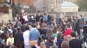 yale halloween costume yale students march to protest racism on campus hartford courant