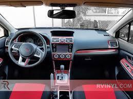 subaru crosstrek decal subaru impreza 2015 2017 dash kits diy dash trim kit