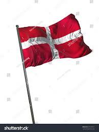 Matla Flag Sovereign Military Order Malta Flag Waving Stock Illustration