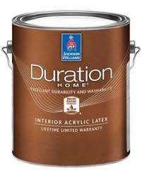 duration home interior acrylic paint sherwin williams