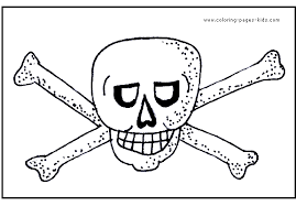 pirate color page coloring pages for kids miscellaneous