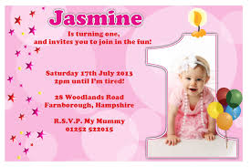 birthday text invitation messages sle invitation message for 1st birthday inspirational 1st