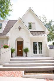 Painting Brick Exterior House - white painted brick exterior design ideas modern luxury and white