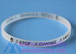 silicone bracelet wristband images Sc0727 transparent printed rubber silicone bracelet buy silicone jpg