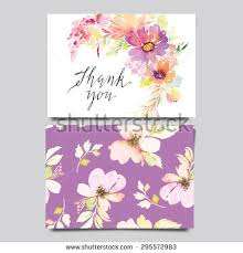 Congratulations Marriage Card Greeting Card Pink Flowers Floral Pattern Stock Vector 264445661