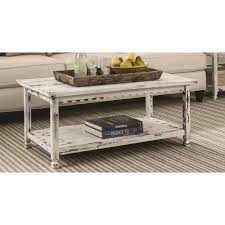 antique white distressed coffee table white distressed coffee table reclaimed wood antique country style