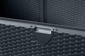 Lifetime 60012 Extra Large Deck Box Instructions by Amazon Com Arrow Spacemaker Deck Box Basket Weave Anthracite