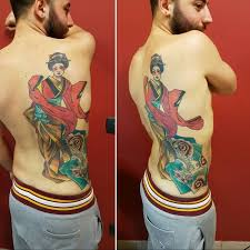 70 colorful japanese geisha tattoos meanings and designs 2018