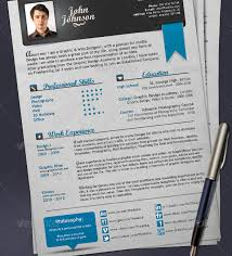 Colorful Resume Templates Free 27 Creative Photoshop U0026 Indesign Resume Templates Wakaboom