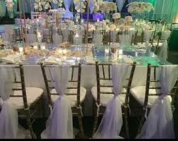 table and chair covers chiavari chair cover etsy